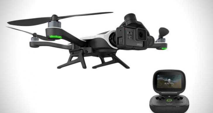 GoPro Karma Drone recall with return instructions
