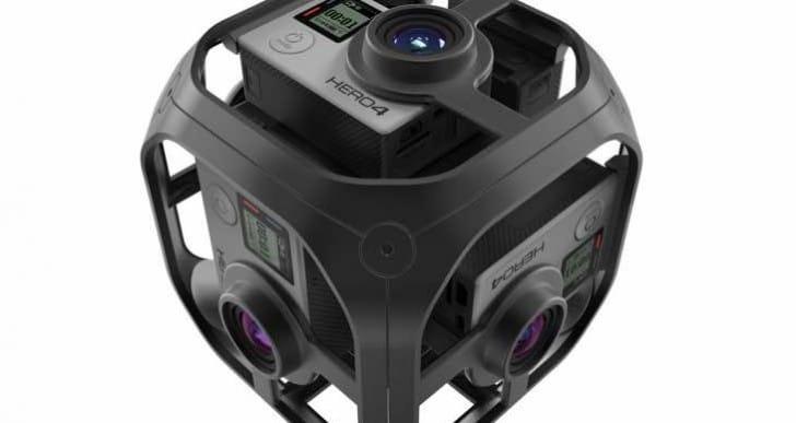 GoPro Omni VR rig production image creates Karma eagerness