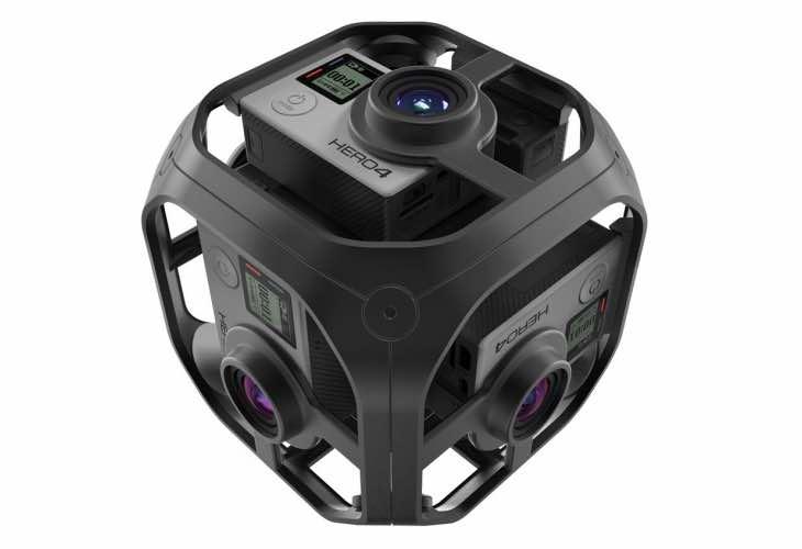 GoPro Omni VR rig production image