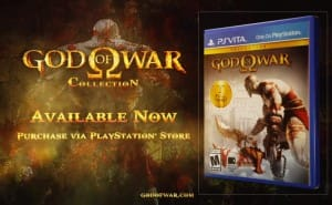 God of War Collection live on PS Vita