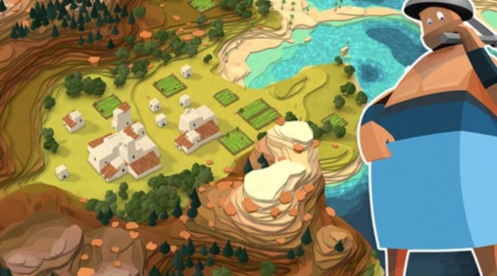 Godus game on iOS with Android fake