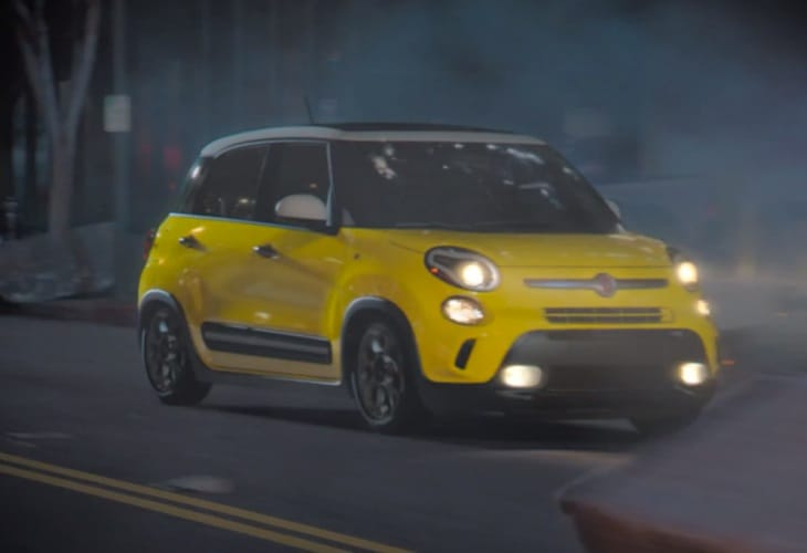 Godzilla used to improve Fiat 500L sales