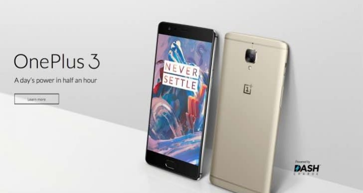 Gold OnePlus‬ 3 ‪release in hours, but not UK