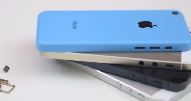 Gold iPhone 5S hands-on vs. iPhone 5C, 5