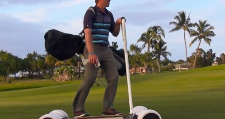 GolfBoard demo video along with price