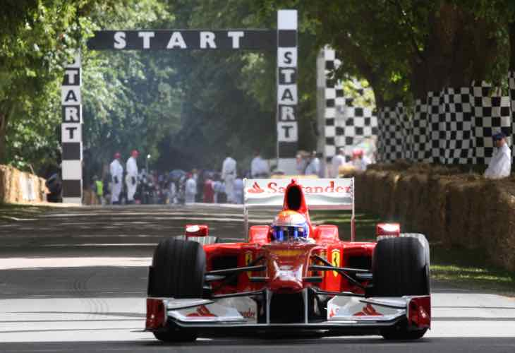 Goodwood FOS 2015 live TV coverage