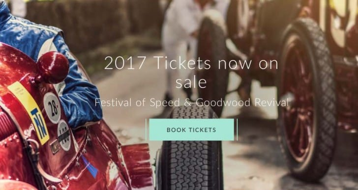 Goodwood Festival of Speed 2017 tickets for free, although not for all