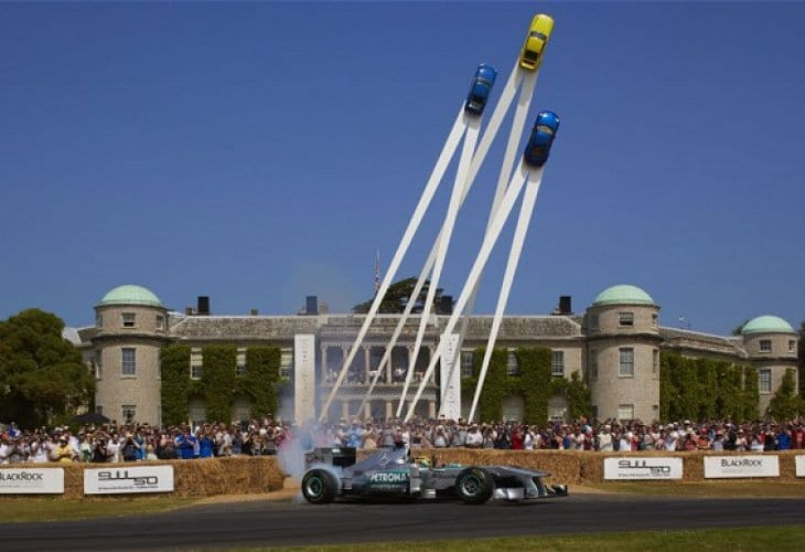 Goodwood Festival of Speed new car launches