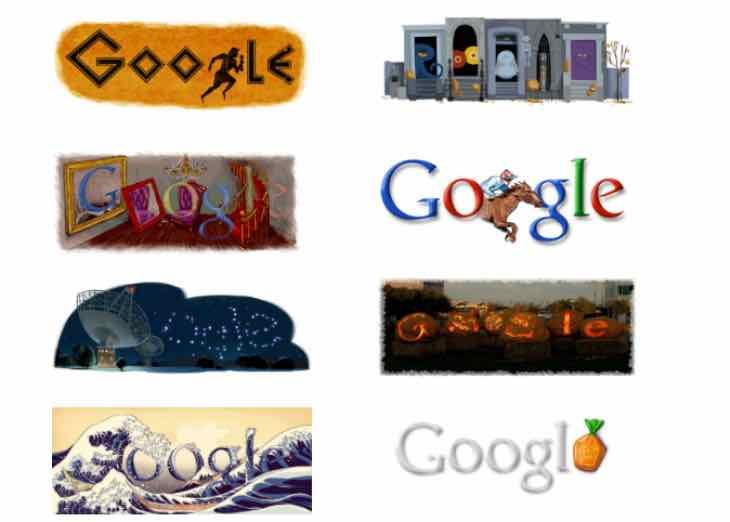 Google Doodle for Halloween