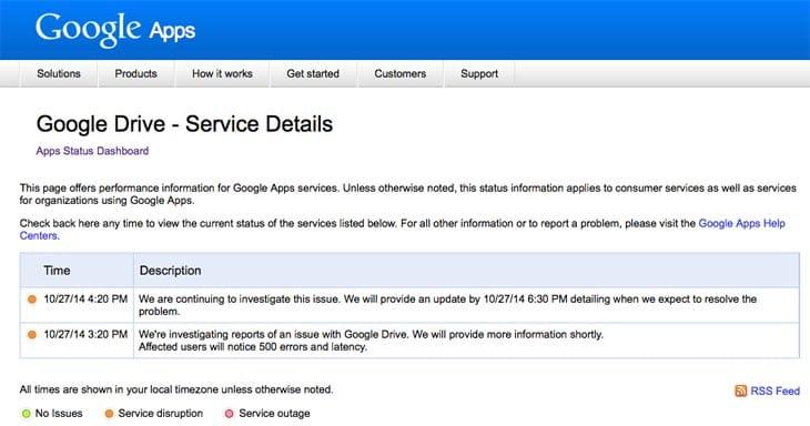 Google-Drive-Service-Details