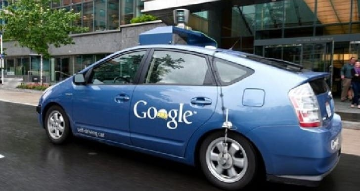 Google driverless car road rules discussed