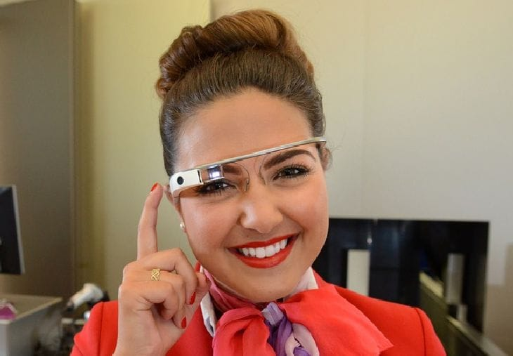 Google Glass trial with Virgin Atlantic review