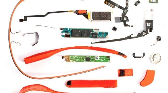 Google Glass teardown: review of internal specs