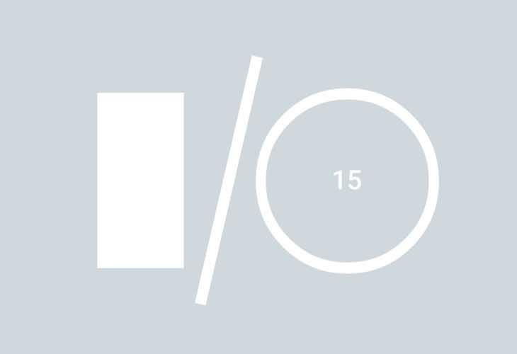 Google I:O conference 2015 dates
