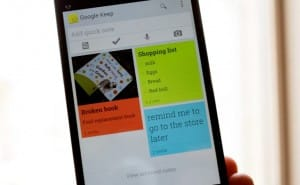 Google Keep adds notes to Drive, syncs with Android