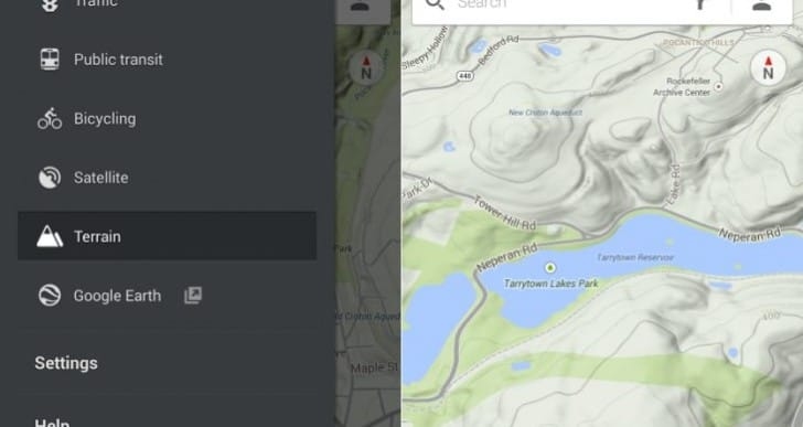 Google Maps 8.1.0 with Terrain View for Android