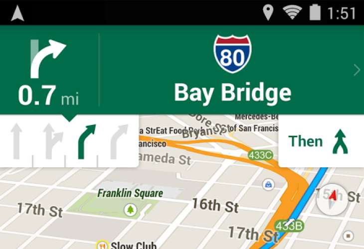 Google Maps font size too small on Android