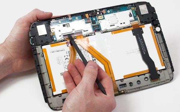 Google Nexus 10 disassembled in review