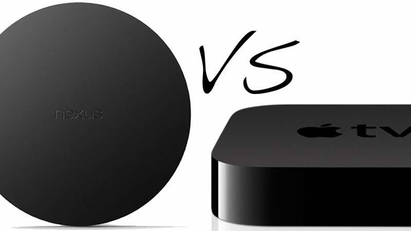 Google Nexus Player Vs Apple TV