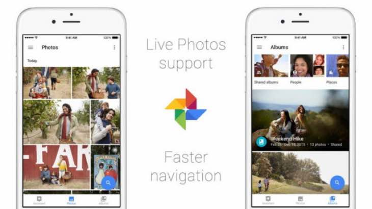 Google Photos update supports Live Photos
