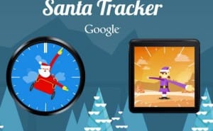 Where is Santa Claus in live Dec 2014 map tracker