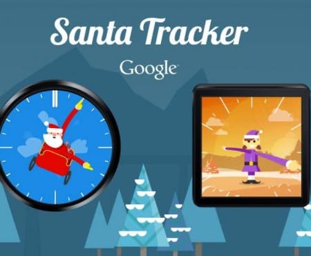 Google Santa Tracker app adds Android watch faces