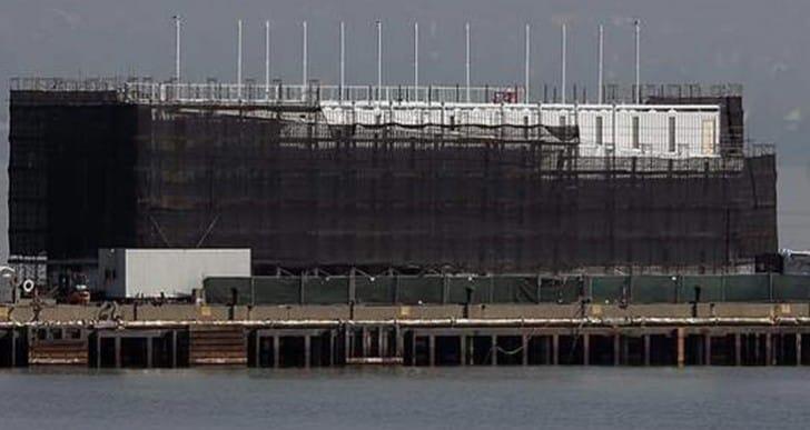 Google datacenter barge mystery