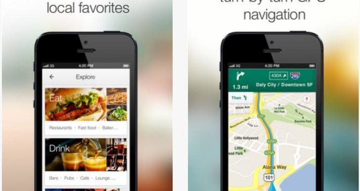 Google navigation iPad app improves with Maps