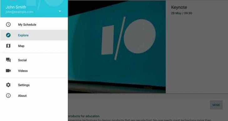 Google updates I/O 2015 app for live stream and schedule