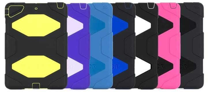 Griffin iPad Air cases with launch date