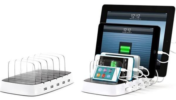 Griffin Powerdock 5 charger for iPhone, iPad, and iPod