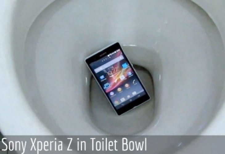 Gross Sony Xperia Z review demonstrates fixation