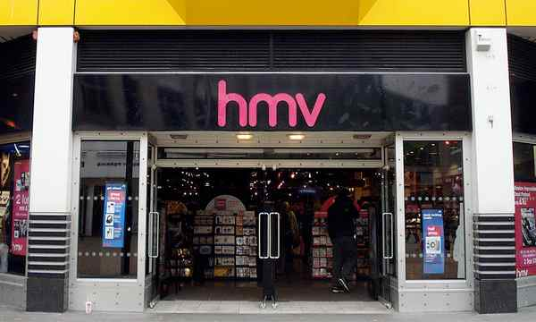 HMV customers await process for voucher holders