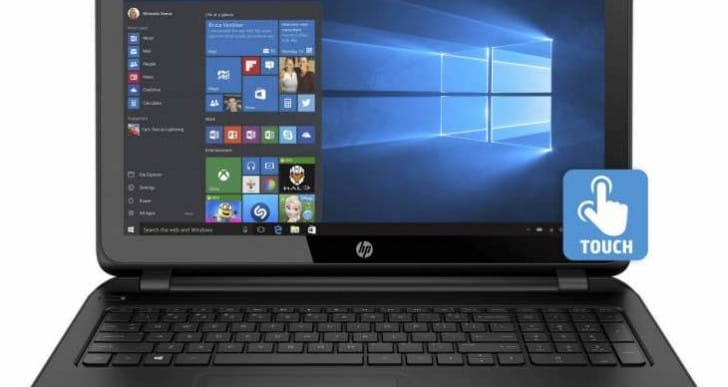 HP 15-f222WM 15.6-inch touchscreen laptop review puzzlement