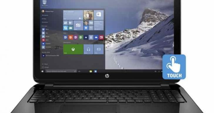 HP 15.6-inch 15-f211wm Window 10 Laptop specs