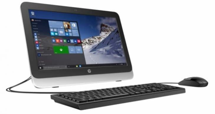 HP 20zw All-in-One Desktop customization alters price
