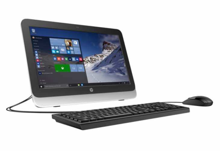 HP 20zw All-in-One Desktop customization