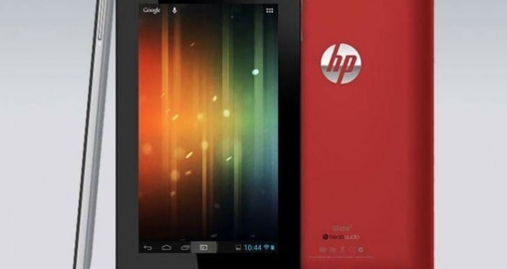 HP 7-inch tablet PC specs for those on a budget