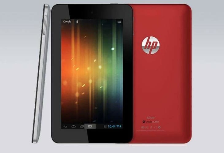 HP 7-inch tablet PC specs for those on a budget – Product ...