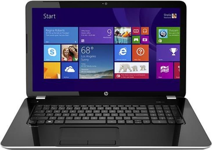 HP Pavilion 17.3-inch laptop- 17-e019dx