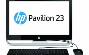 HP Pavilion 23-inch All-in-One PC PV23G010 specs from PDF