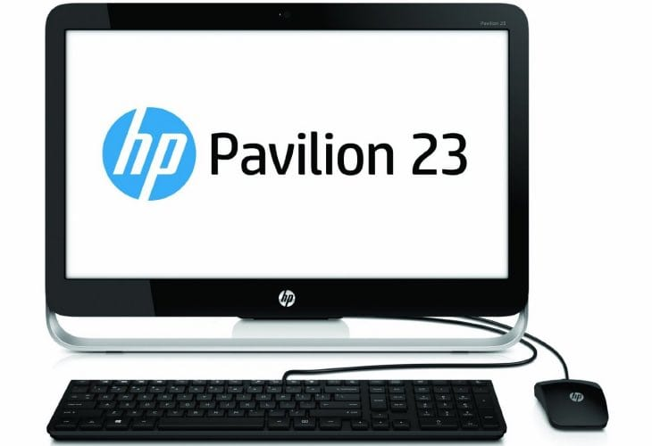 HP Pavilion All-in-One PC PV23G010 specs in PDF