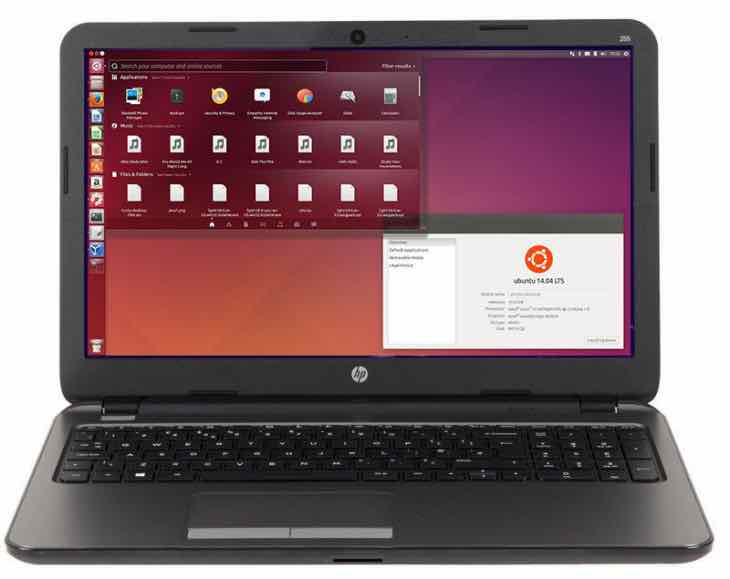 HP ProBook 255 G3 Ubuntu laptop