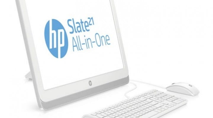 HP Slate 21 and SlateBook X2 first look