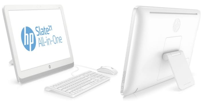 HP Slate 21 all-in-one computer experience