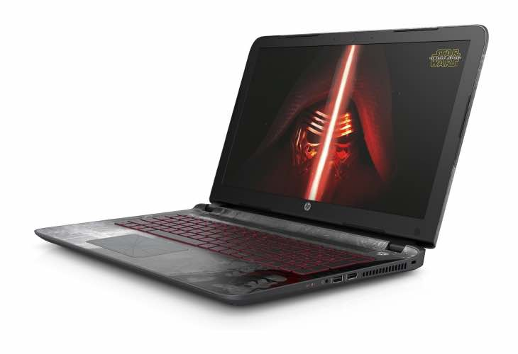 HP Star Wars Special Edition 15-an001na laptop specs