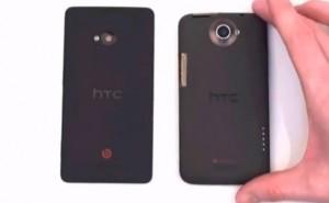 HTC M7 comparison video highlights design