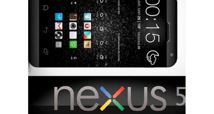 HTC Nexus 5 concept a BlackBerry Z10 doppelganger
