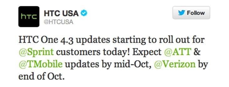 HTC-One-4.3-updates-tweet