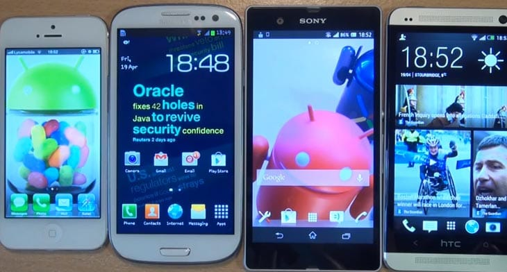 HTC-One-Galaxy-S3-iPhone-5-and-Xperia-Z-by-display